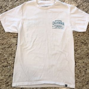 NWOT Ripcurl White T-shirt, Size Small